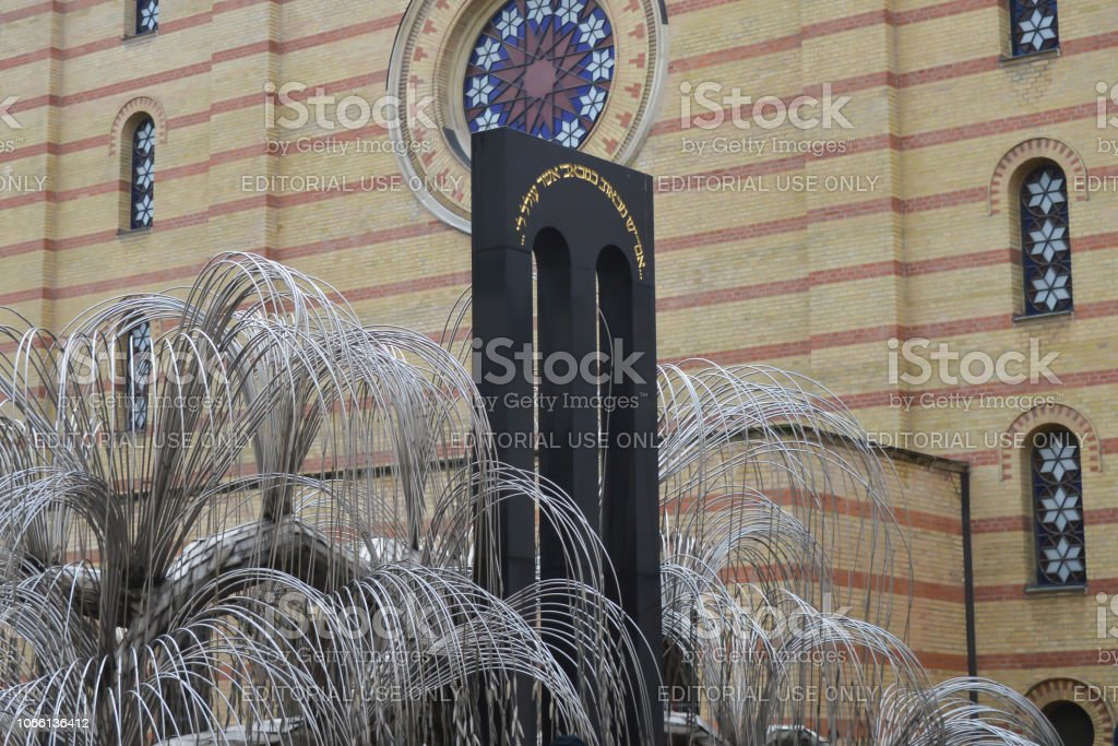 The Weeping Willow Tree In The Courtyard Of Central