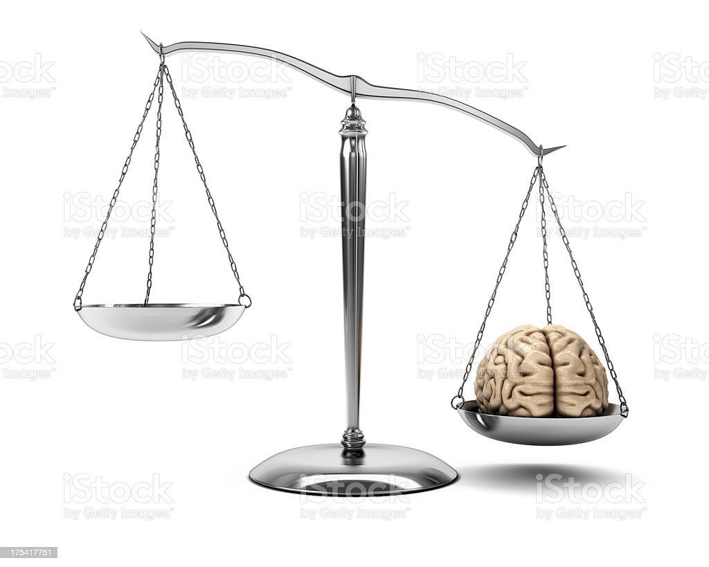 The Weight of Ideas (XXXL 45MPx) stock photo