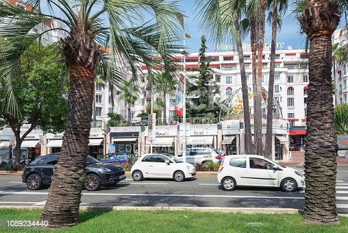 istock The well known hotel   Majestic Barriere along the famous boulevard de la Croisette in Cannes 1059234440