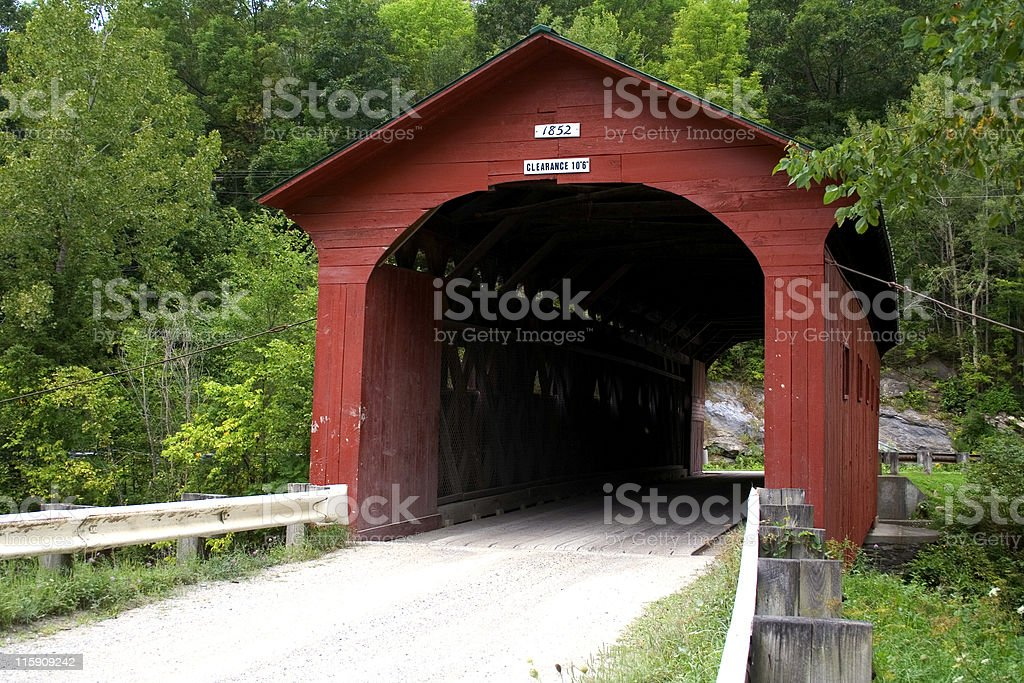 The West Arlington Bridge stock photo