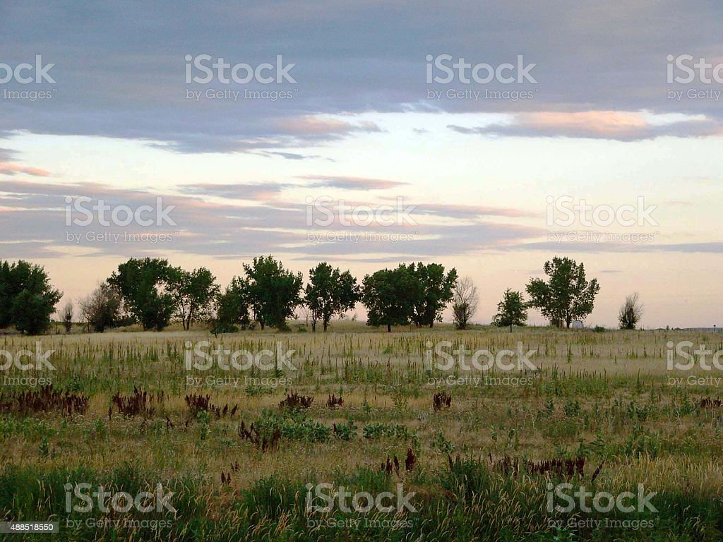 The West stock photo