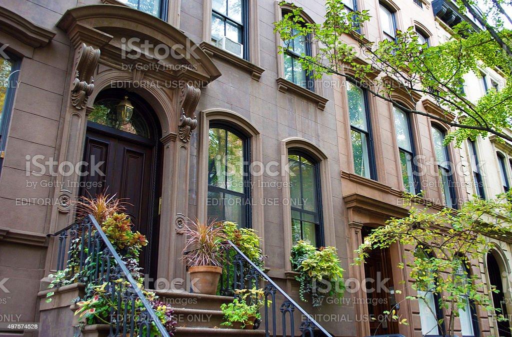 The West Village New York City stock photo