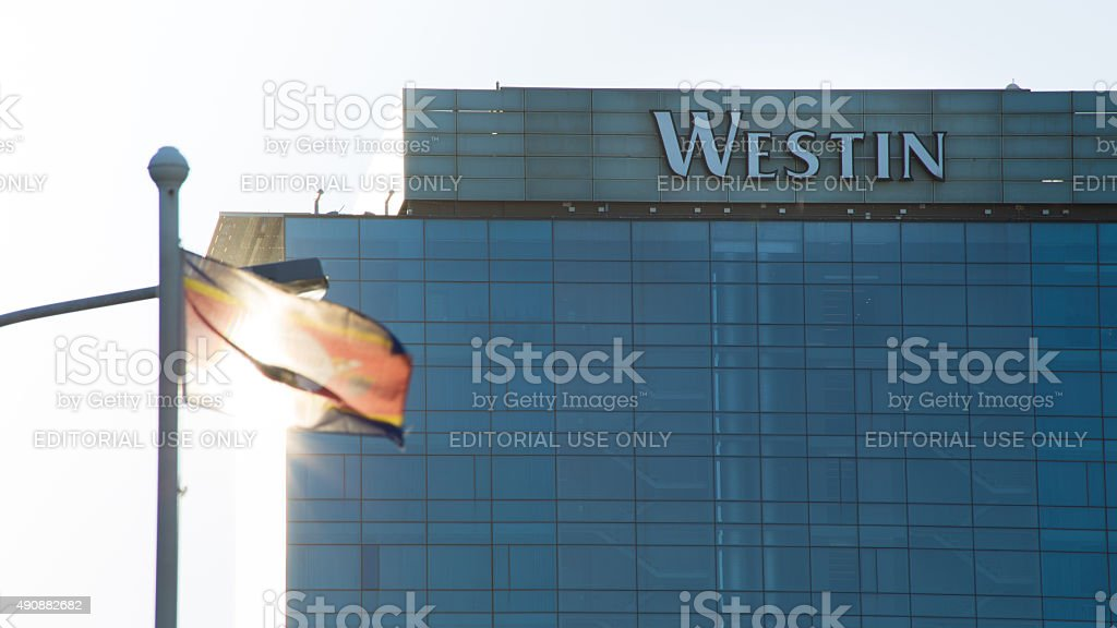 The Westin Building in Cape Town stock photo