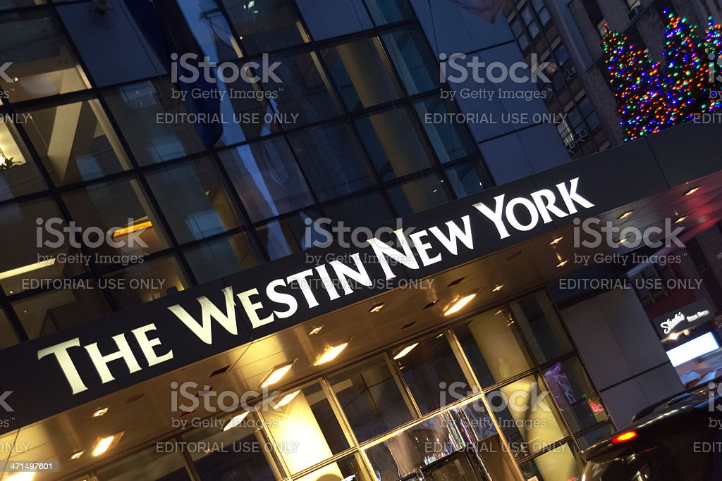 The Westin New York stock photo