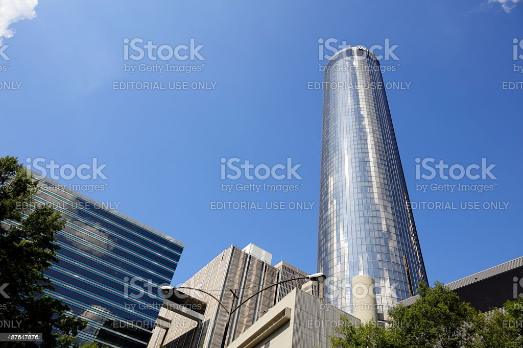 The Westin Peachtree Plaza stock photo