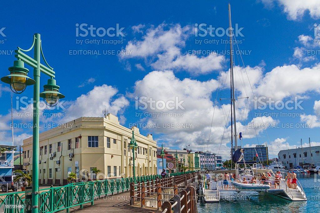 O Wharf, Bridgetown, Barbados - foto de acervo