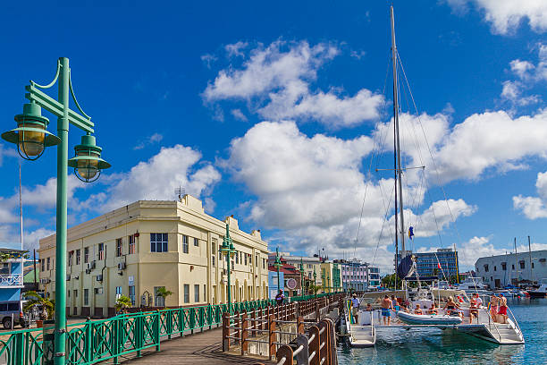 The Wharf, Bridgetown, Barbados stock photo