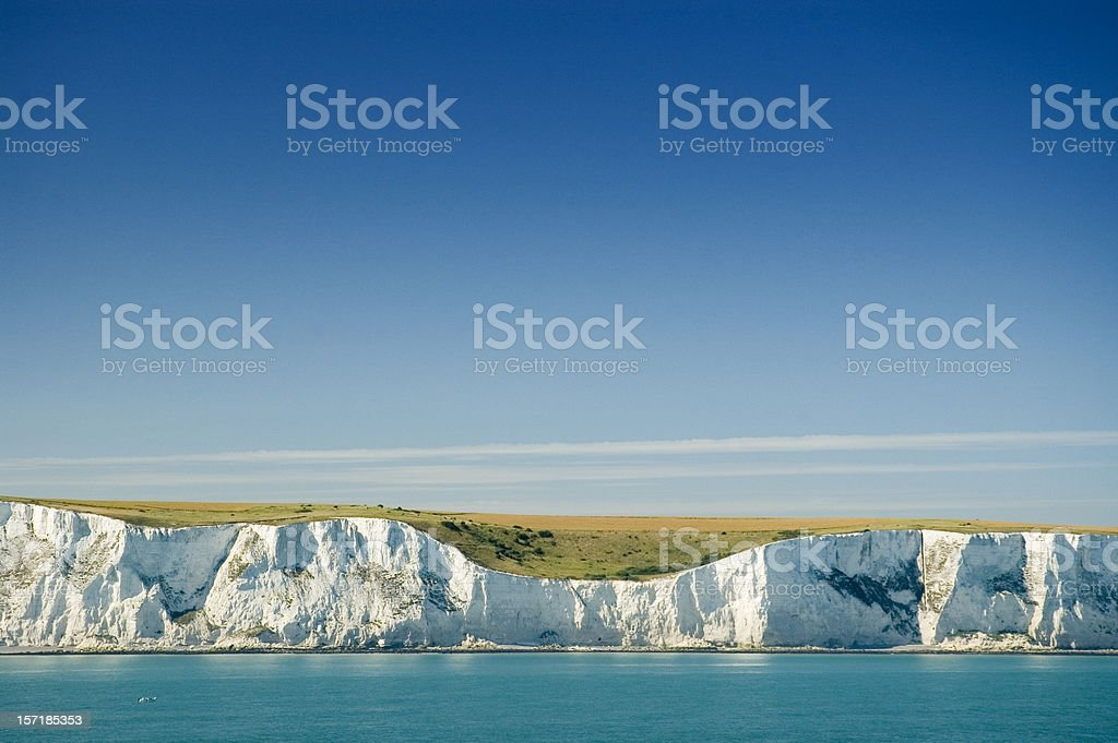 The White Cliffs of Dover stock photo