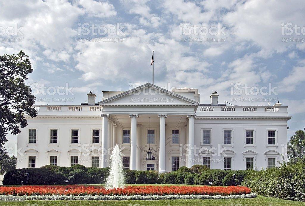 The White House in Washington DC royalty-free stock photo