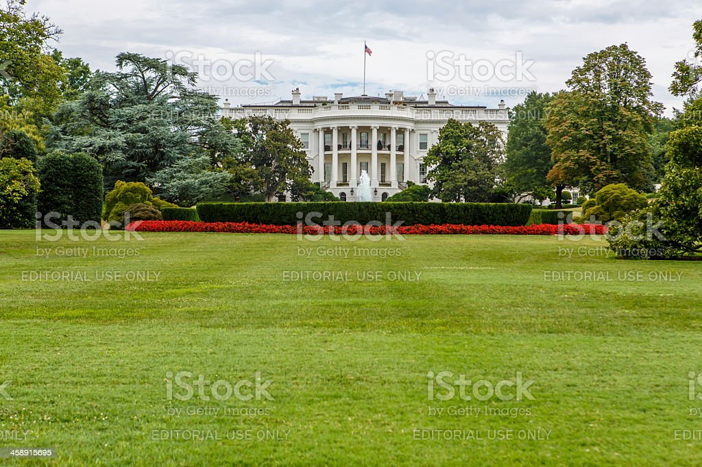The White House in Washington, DC royalty-free stock photo