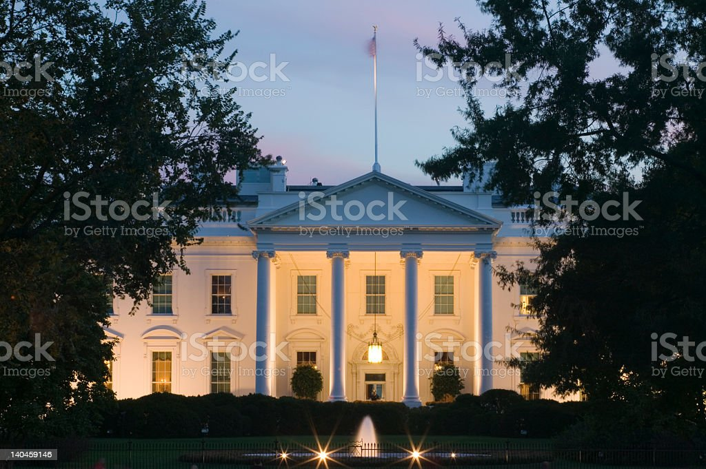 The White House royalty-free stock photo