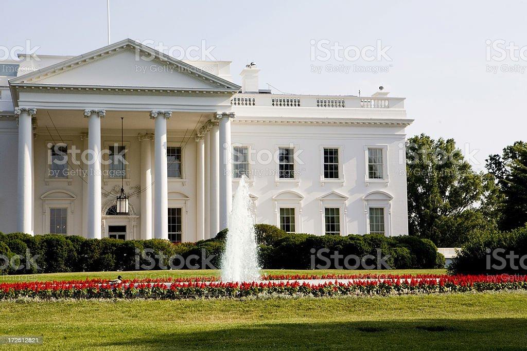 The White House royalty-free stock photo