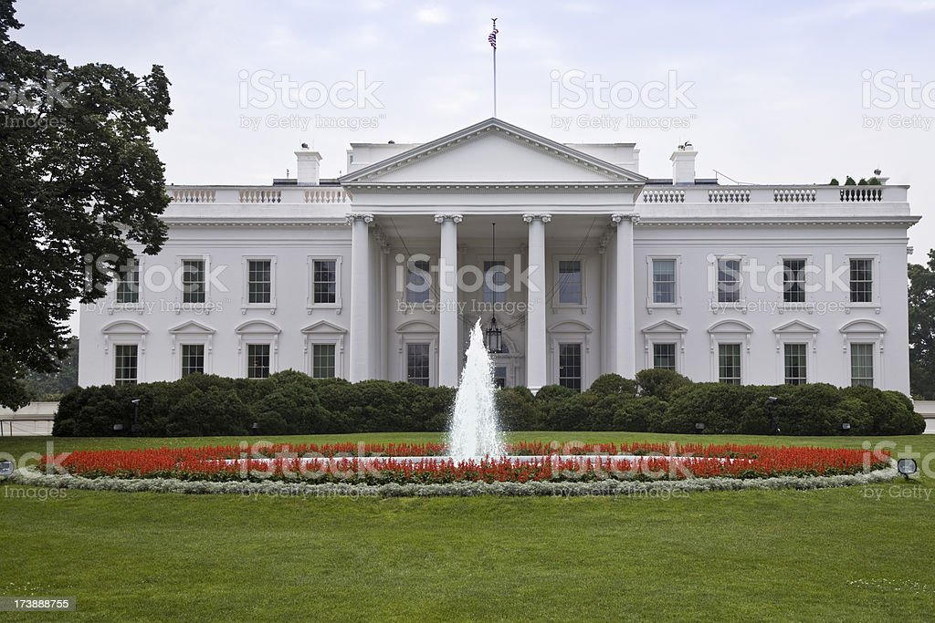 The White House (XXL) stock photo
