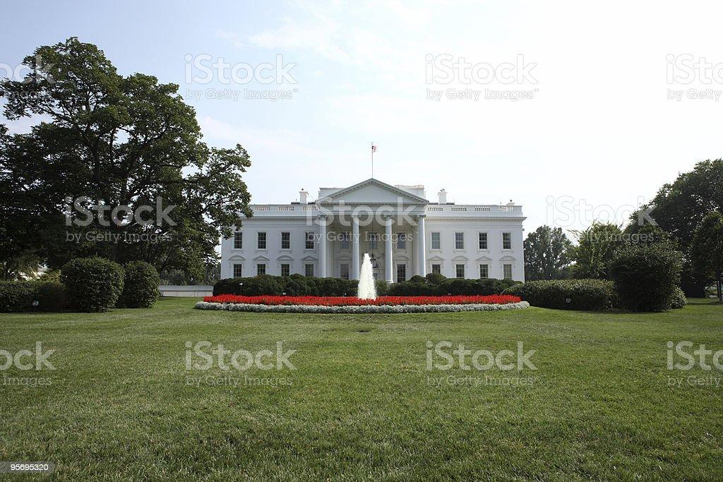 La casa blanca - foto de stock