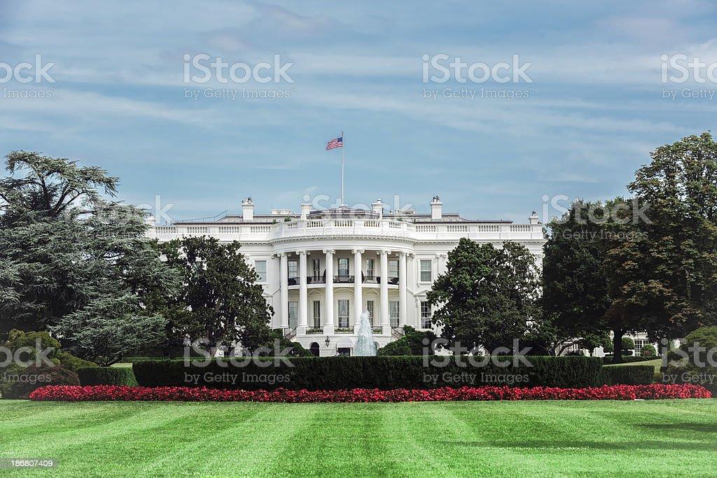 the White House, USA stock photo
