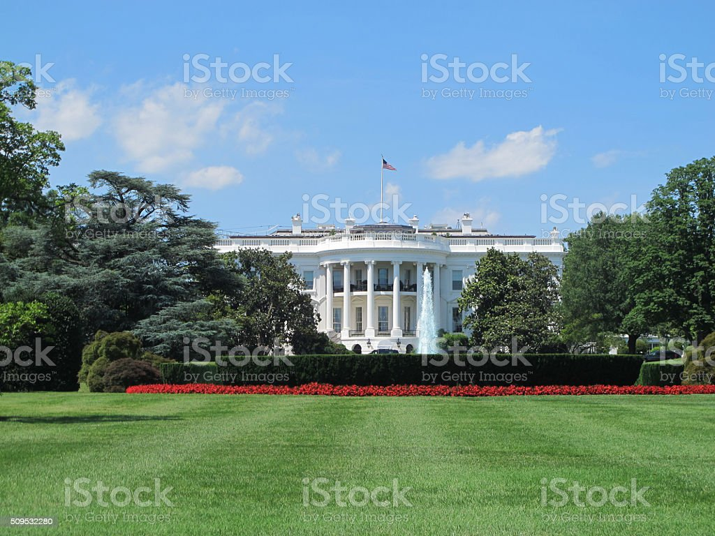 The White House, Washington, DC stock photo