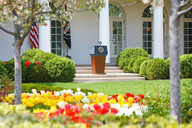 the white house washington dc - выборы президента стоковые фото и изображения