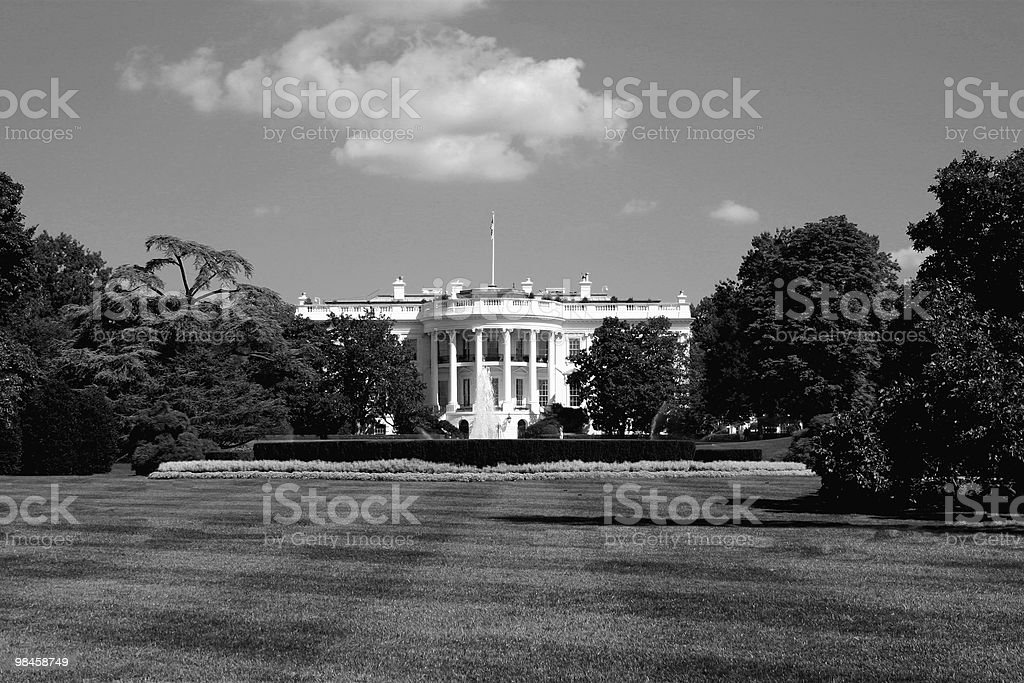 La Casa Bianca, Washington D.C. foto stock royalty-free