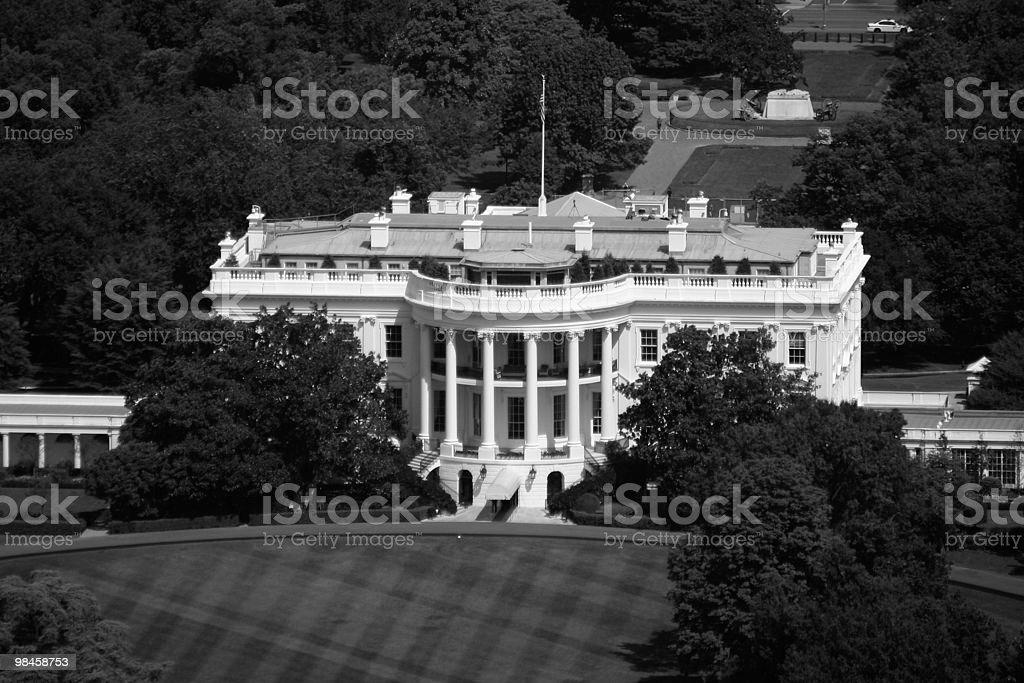 The white house, Washington D.C. royalty-free stock photo