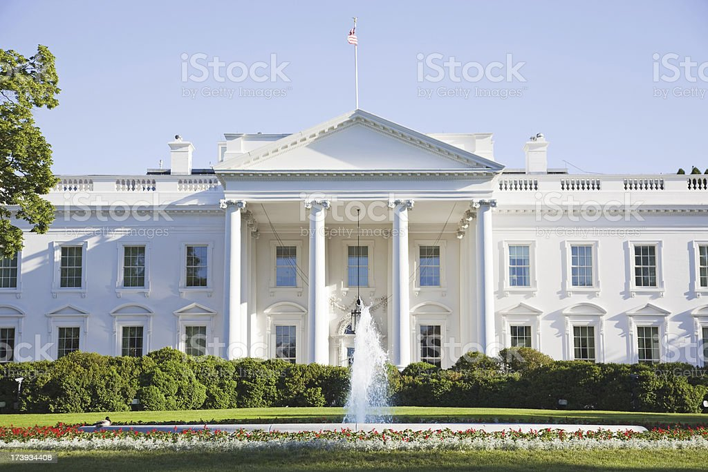 The White House XXXL stock photo