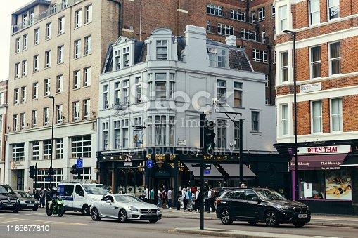 512860403 istock photo The White Swan Pub in Pimlico, London, UK 1165677810
