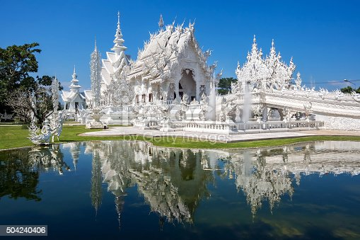 istock The White Temple, or Wat Rong Khun, Chiang Rai, Thailand 504240406