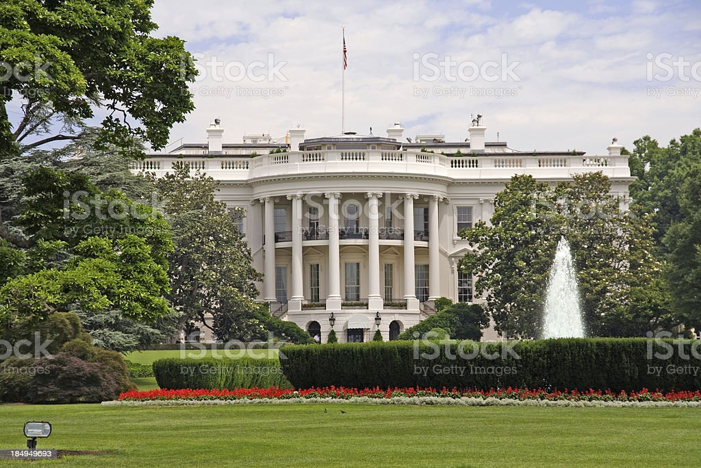 The Whitehouse royalty-free stock photo