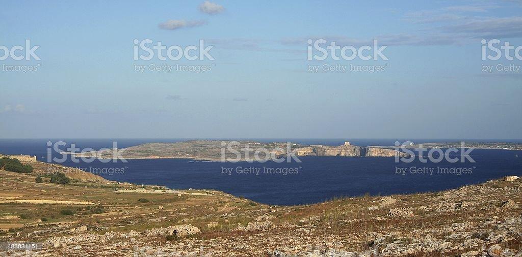 The whole Maltese archipelago royalty-free stock photo