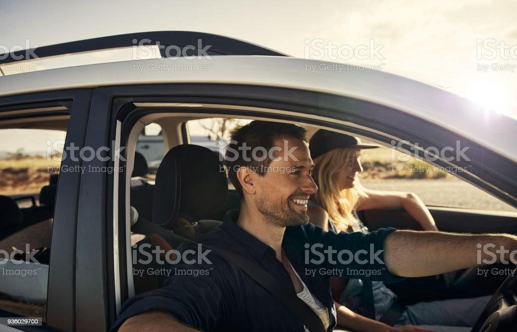 The whole world is in front of us stock photo