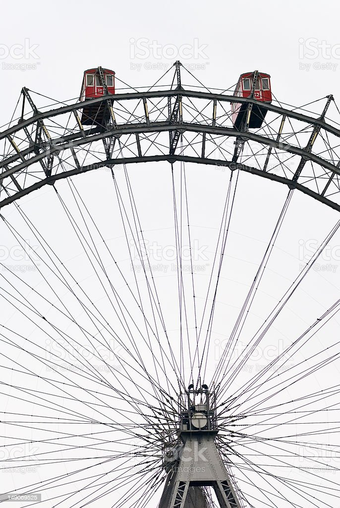 the wiener riesenrad royalty-free stock photo