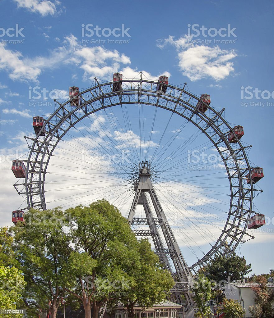 The Wiener Riesenrad stock photo