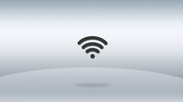 das wifi-symbol - kostenlos tv stock-fotos und bilder