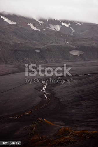 istock The wild and ominous volcanic highlands of Iceland 1321616966