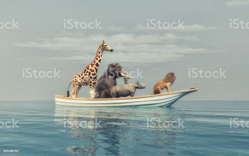 Les animaux sauvages photo libre de droits
