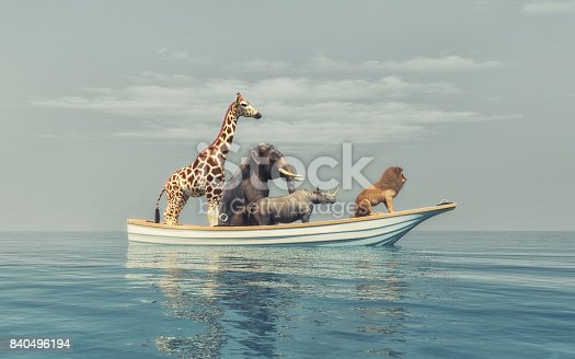 istock The wild animals 840496194