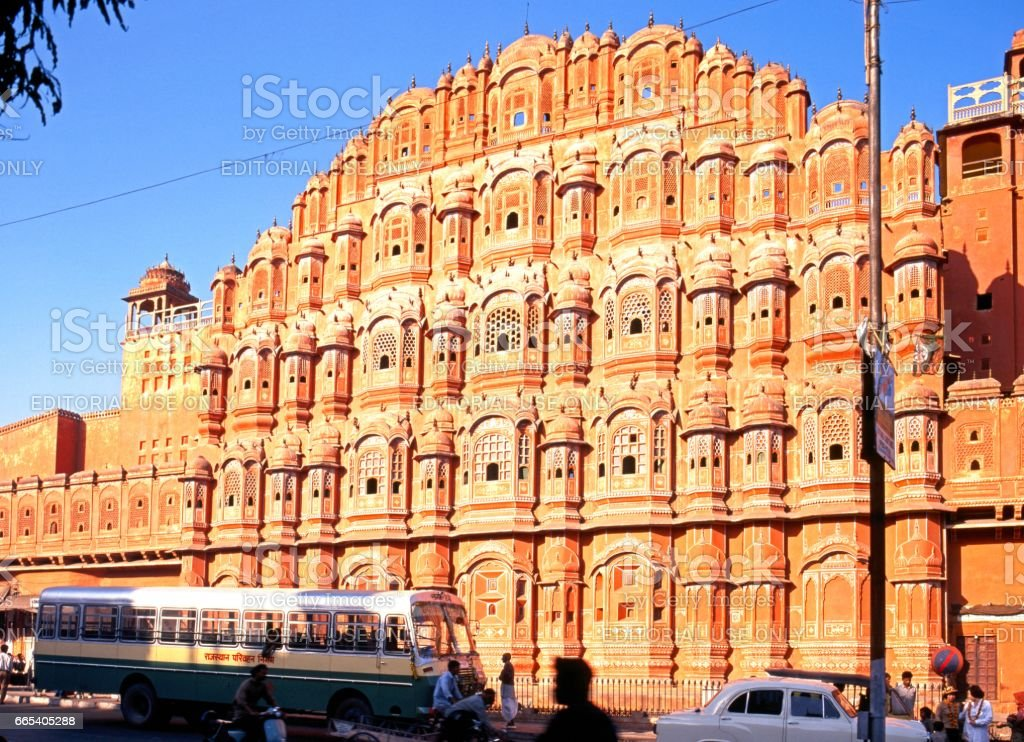 The Wind Palace, Jaipur. stock photo