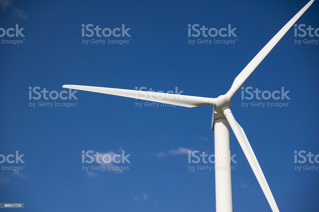 The Wind Turbine royalty-free stock photo
