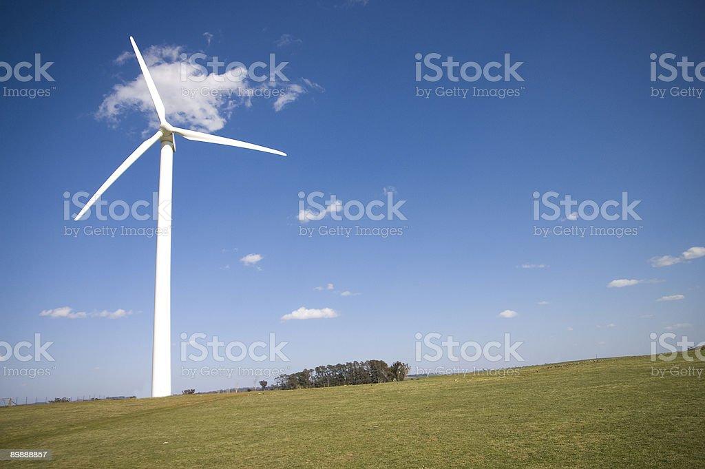 The Wind Turbine royalty-free stock photo