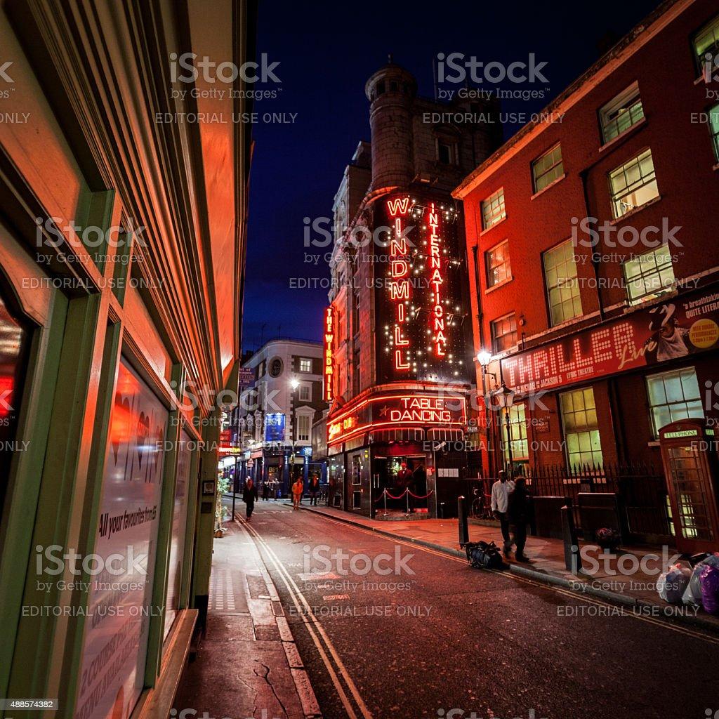 El molino de viento Club, London - foto de stock