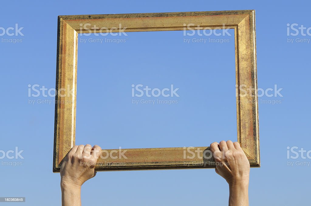 The Window of Opportunity royalty-free stock photo