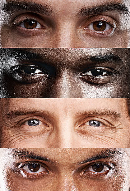 the windows to the soul, no matter where you're from! - eye stock pictures, royalty-free photos & images