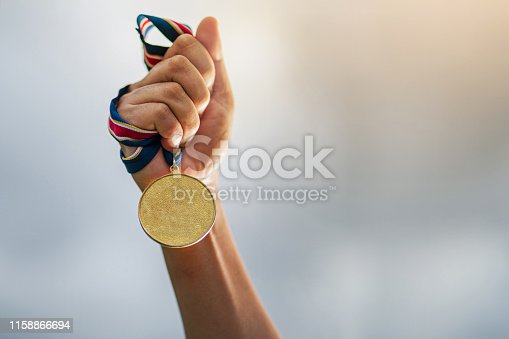 istock The winner and successful concept 1158866694