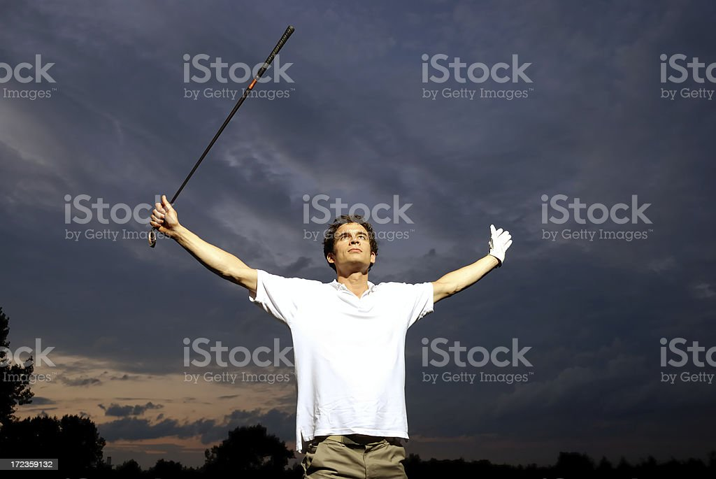 the winner takes it all royalty-free stock photo