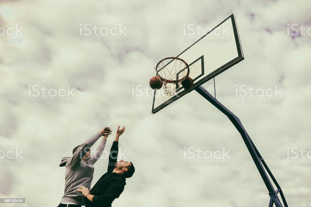The winner takes it all - Royalty-free Basketball - Sport Stock Photo