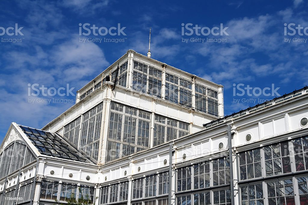 The Winter Gardens, Great Yarmouth stock photo