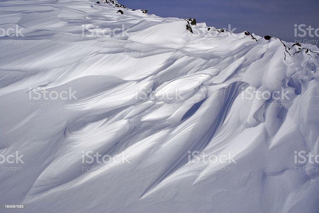 The winter motives 9 royalty-free stock photo