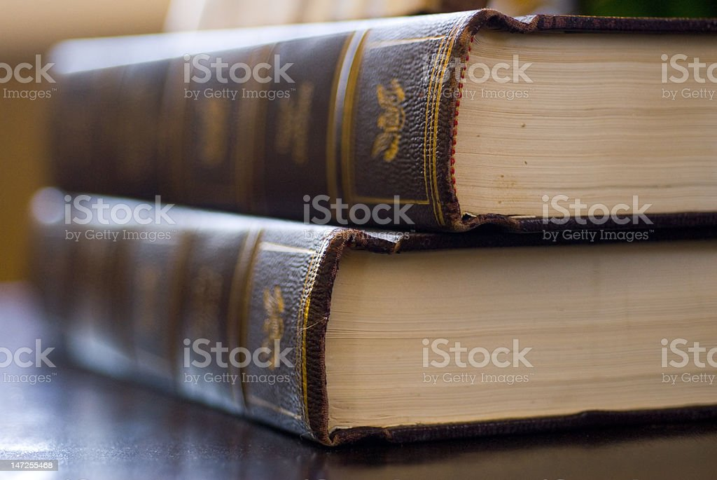 The Wisdom of Books stock photo