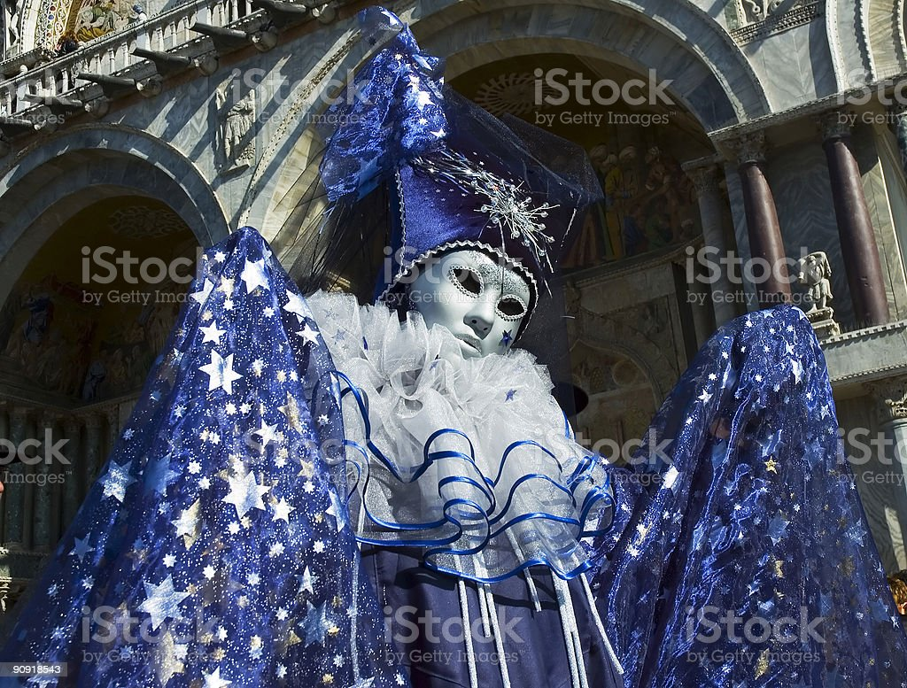 The Wizard of Venice royalty-free stock photo