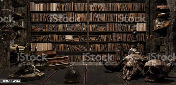 The wizards room with library old books potion and scary things 3d picture id1082924844?b=1&k=6&m=1082924844&s=612x612&h=mdwxwhtskfddryjgjivstadnuvfcrsc8rn3mj56mhti=