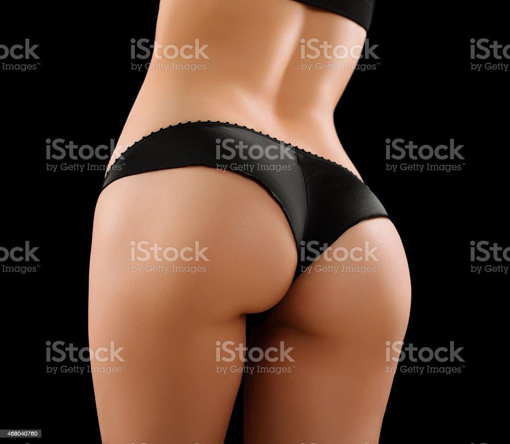 The woman's body. stock photo
